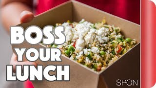 How To Boss Your Work Lunch