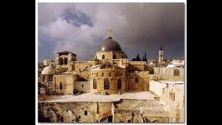 ОЧЕНЬ КРАСИВАЯ ПЕСНЯ СВЯЩЕННОСЛУЖИТЕЛЯ В ИЕРУСАЛИМЕ У ГРОБА ГОСПОДНЯ.ИЗРАИЛЬ В ИЕРУСАЛИМЕ В ХРАМЕ.