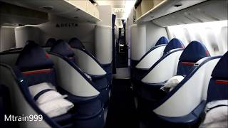 Delta 777 cabin tour (Comfort +)