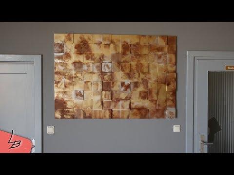 Schöne Wanddeko aus Holz | Günstig und schnell selbst gemacht! | Lets Bastel