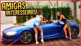 TESTEI O INTERESSE DAS MINHAS AMIGAS COM O AUDI R8!! - TROLLANDO AMIGAS [ REZENDE EVIL ]