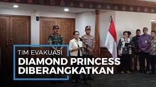 Pemerintah Kirimkan 23 Tim untuk Evakuasi 68 WNI Terisolasi di Kapal Diamond Princess