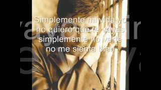 SIMPLEMENTE - CHAYANNE ( letra )