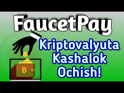 FaucetPay / MICROWALLET KASHALOK OCHISH 😊👍