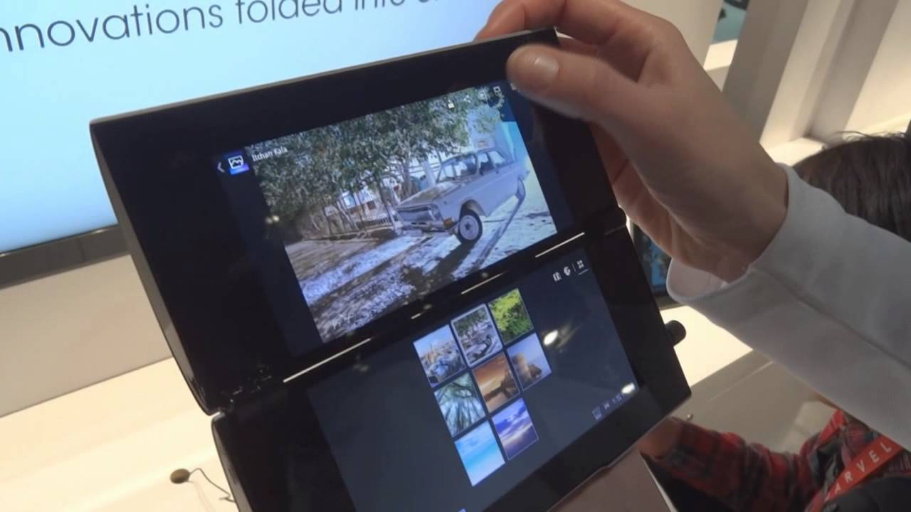Sony Tablet P Hands-On: Twin 5.5-Inch Screens