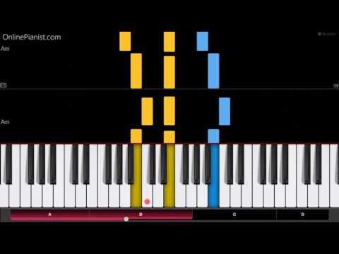 Hans Zimmer - Interstellar - EASY Piano Tutorial - Day One (Interstellar Main Theme) -