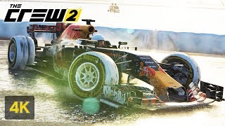 F1 RED BULL The Crew 2 4K Gameplay Onboard ALPHA Grand Prix Walkthrough #12