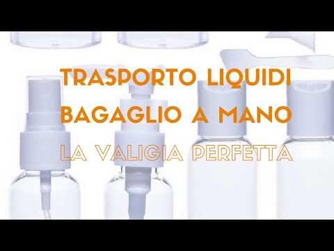 Trasporto liquidi nel bagaglio a mano