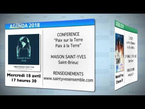 Agenda du 13 avril 2018