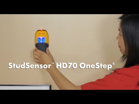 Zircon StudSensor HD70 OneStep Center Finding Stud Finder