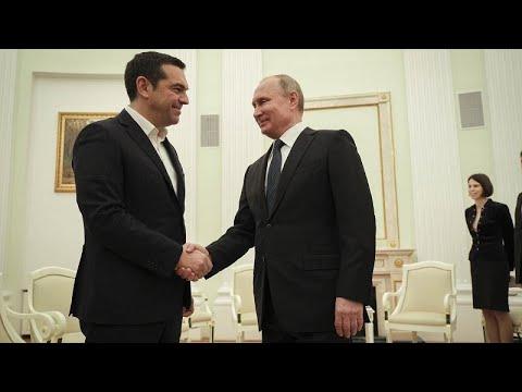 Εξαιρετικο κλίμα στη συνάντηση Τσίπρα-Πούτιν