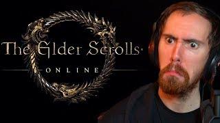 Asmongold Reacts To Elder Scrolls Online Trailers
