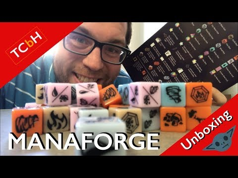 The Cardboard Herald unboxes Manaforge