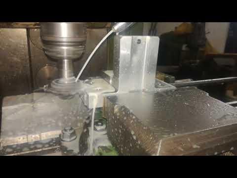 Make angle in Milling machine