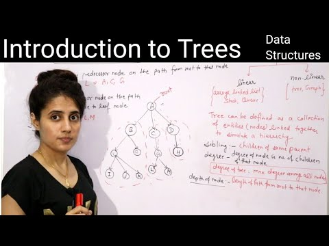 5.1 Tree in data structure | Introduction to trees | Data structures