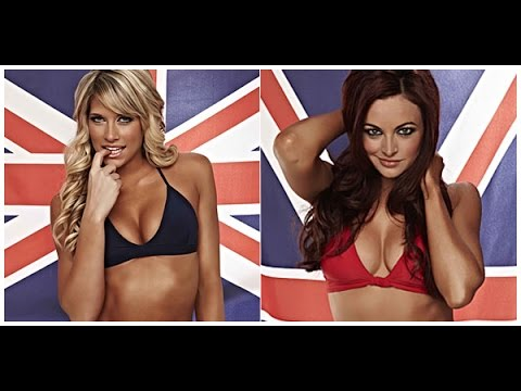 WWE 2K16 Bikini Match. Kelly Kelly vs. Maria