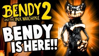 Bendy and the Ink Machine - BENDY IS ALIVE?! - Chapter 2 - Bendy and the Ink Machine Gameplay