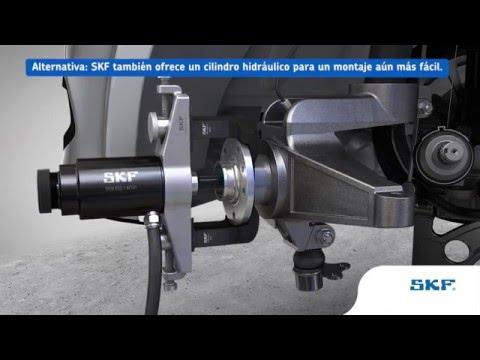 SKF - Como montar y desmontar rodamientos de rueda utilizando las herramientas SKF VKN 600/601/602-1