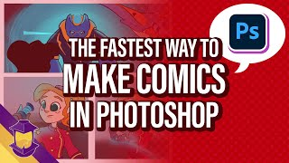 The Fastest Process for Making Comics in Photoshop
