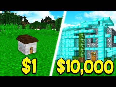 HOUSE vs ,000 MINECRAFT HOUSE!