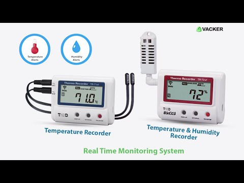 Remote Temperature and Humidity Monitoring with Email, SMS and phone call alert | VackerGlobal