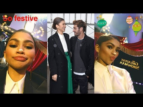 Zendaya | Snapchat Story | 9 December 2017 w/ Zac Efron