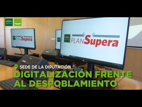 Diputación invirtió casi 14,5 millones para eliminar brecha digital