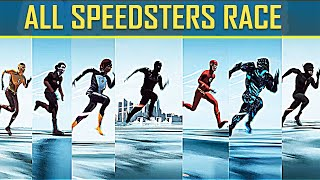 THE FLASH - ALL SPEEDSTERS RACE - WHO IS THE FASTEST MAN ALIVE ? (2020)