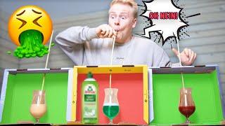 TRINKE NICHT AUS DER FALSCHEN BOX ! 🤮😱(Mystery Box Challenge)  II RayFox
