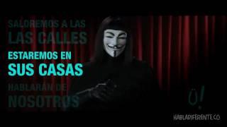 Lo que ocurrió el 11/11/11. Comunicado ANONYGÜÍS #1 [Anonymous parody]