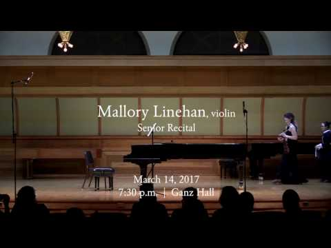 Senior Violin Recital - entire