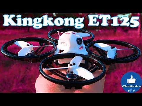 ✔ Review KINGKONG/LDARC ET125 125mm Micro FPV Racing Drone! Banggood!