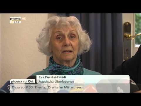 Auschwitz-Prozess: Statement der Auschwitz-Überlebenden Eva Pusztai-Fahidi am 21.04.2015