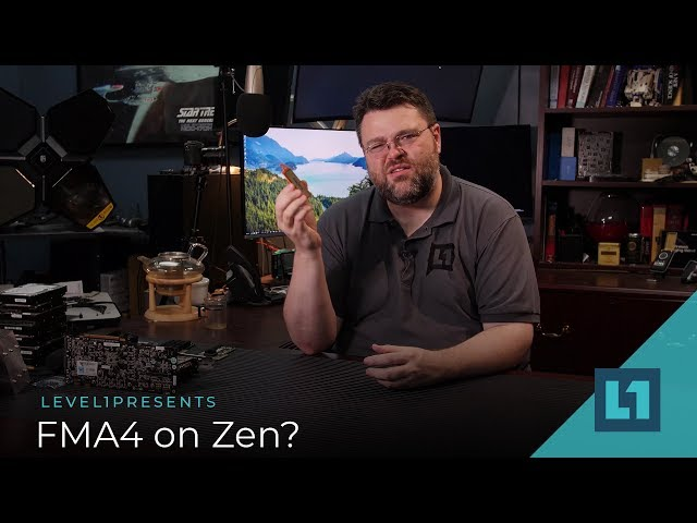 AMD Zen CPUs Still Support FMA4 Instruction Set, Sort Of