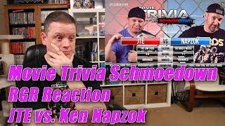 Movie Trivia Schmoedown: JTE Vs Ken Napzok - RGR Reaction