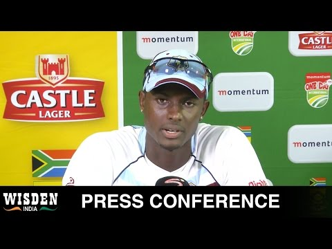 Jason Holder Press Conference | South Africa v West Indies ODI Series | Wisden India