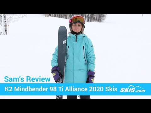 Video: K2 Mindbender 98 TI Alliance Skis 2020 17 50