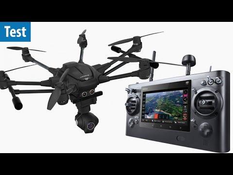 Video-Drohne für Profis - Yuneec Typhoon H Pro RealSense im Test | deutsch / german