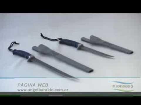 Cuchillos para filetear marca Buck en Angel Baraldo