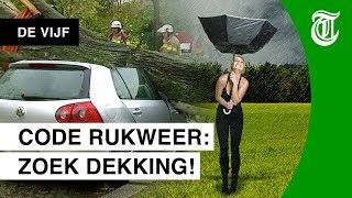Extreem weer in Nederland! - DE VIJF