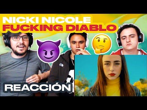 [Reacción] Nicki Nicole - F**cking Diablo (Video Oficial) - ANYMAL LIVE 🔴