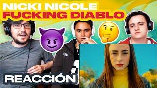 [Reacción] Nicki Nicole   F**cking Diablo (Video Oficial)   ANYMAL LIVE 🔴
