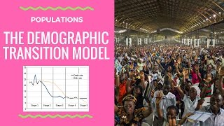 How does a country develop? The Demographic Transition Model - diagram and explanation