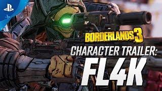 """Borderlands 3 - FL4K Character Trailer: """"The Hunt""""   PS4"""
