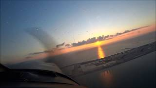 Evening twilight 那覇空港