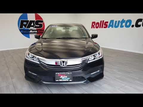 Pre-Owned 2017 Honda Accord Sedan 4D Sport Special Edition I4