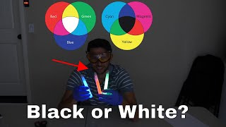 The Liquid Light Riddle—Does It Make Black Or White?