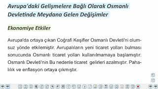 Eğitim Vadisi TYT Tarih 11.Föy Değişen Dünya Dengeleri Karşısında Osmanlı Siyaseti 2 Konu Anlatım Videoları
