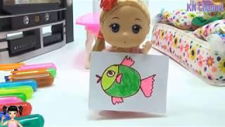 BabyBus - Tiki Mimi và Trò Chơi làm kẹo dẻo nấm lùn mario