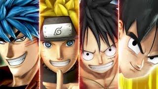 JStars Victory VS Trailer With Goku Luffy Naruto And Toriko